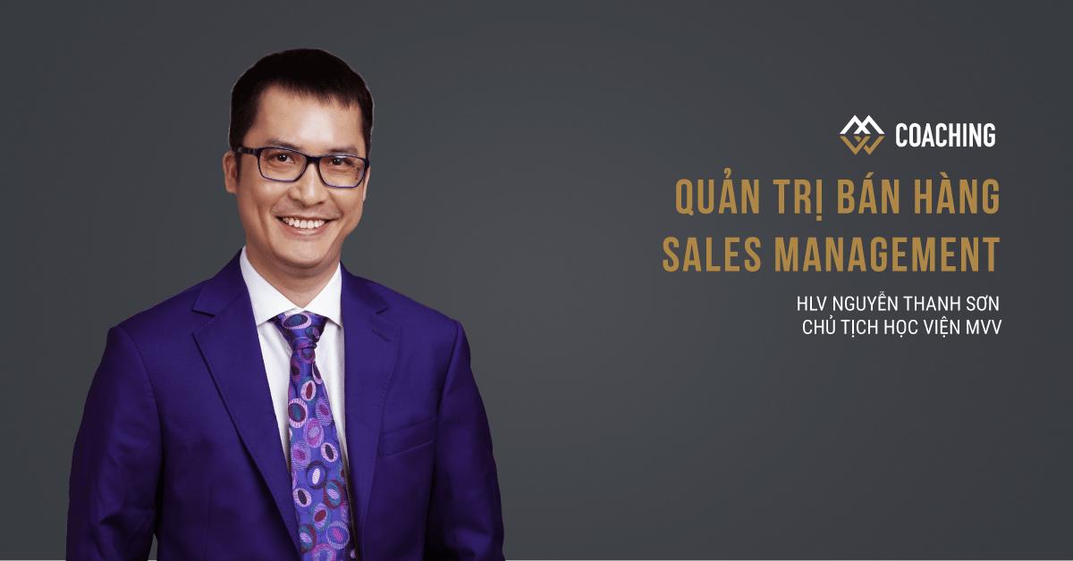 Quản trị Bán hàng - Sales Management